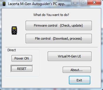 MGEN | Lacerta MGEN-II Superguider (Autoguider Camera with remote